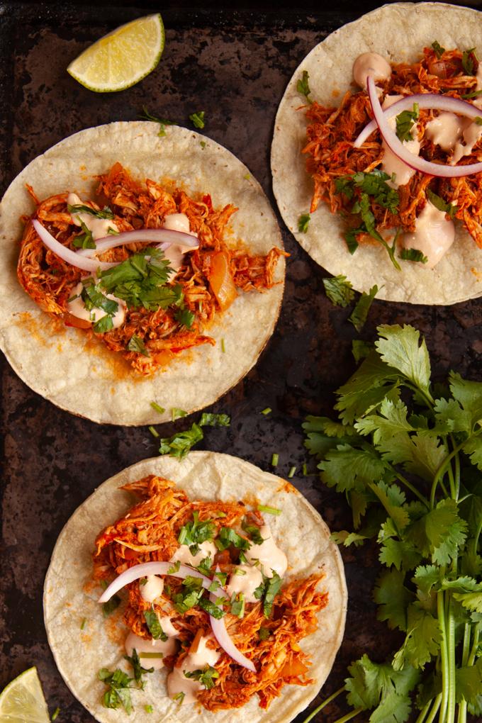 Tacos De Tinga De Pollo Con Paprika Yummy Bite